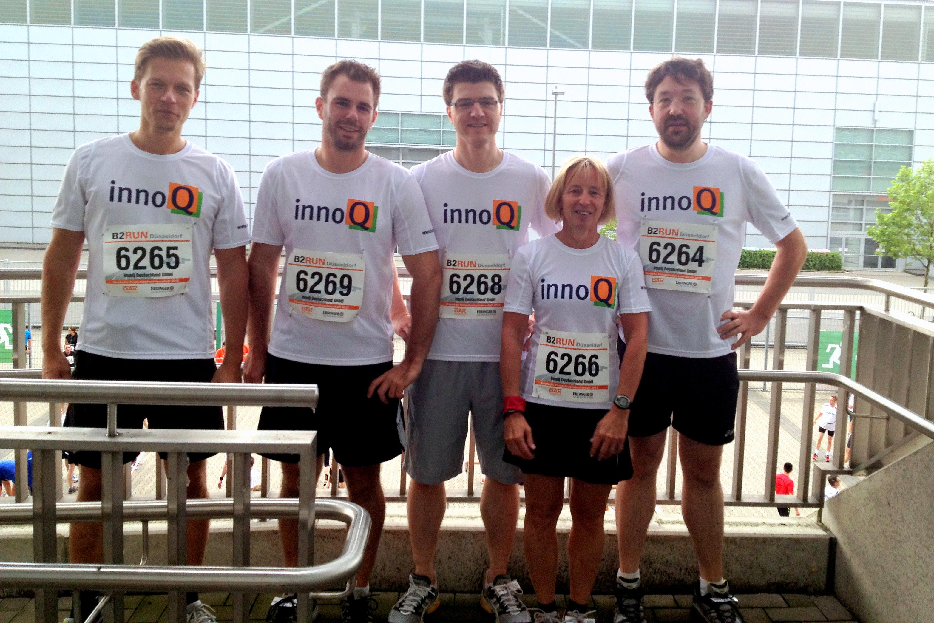 innoQ-Laufteam 2012